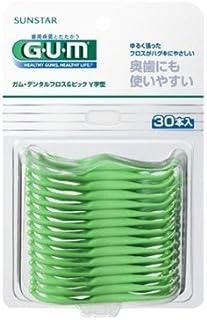 GUM(ガム)?デンタルフロス&ピック Y字型 30P