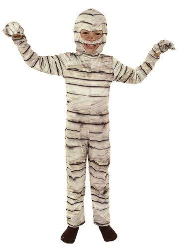 César M054-002 - Disfraz infantil de momia (8-10 años)