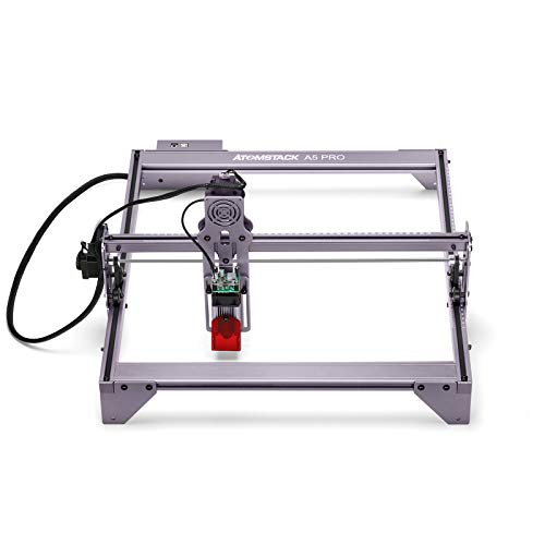 ATOMSTACK A5 Pro 40w CNC Router Grbl DIY Stainless Steel Metal Laser Engraving Wood Cutting Graving Dog Tag Engraver Machine