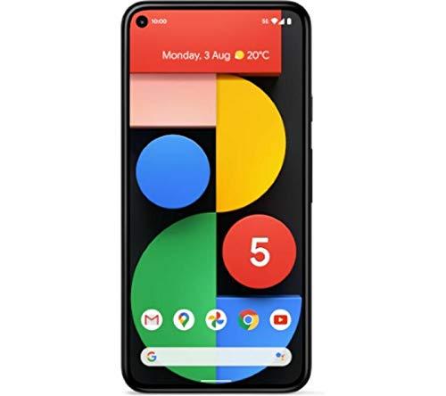 国内SIMフリー Google Pixel 5 5G 128GB、Just Black、ブラック