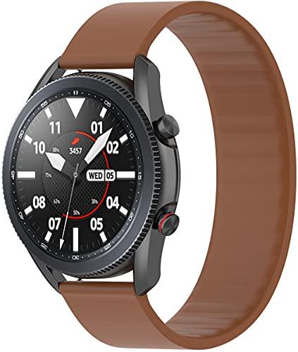 Shieranlee 22mm Compatible con Huawei Watch3 Correa,Solo Loop Correa para Huawei Watch3 Pro Correa,Vantage M/M2,Letsfit IW2/Popglory Correa/BV-X1/BV-SW01/UMIDIGI Uwatch 3S/COROS Correa