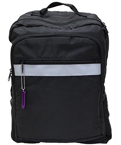 防災用浮かぶ多機能リュックサック(防災頭巾・ホイッスル付き)(目安体重約80kg) ブラック