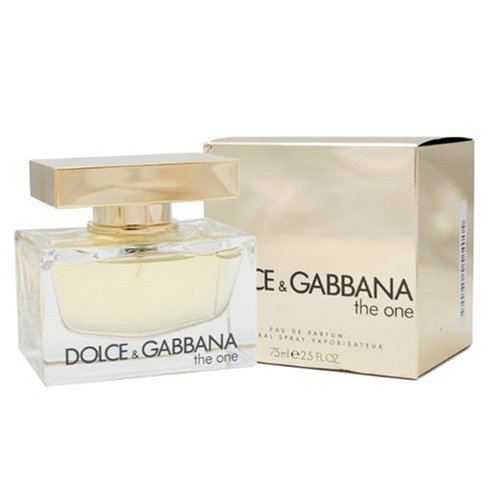 8448793550 Amazon.com : Dolce & Gabbana The One By Dolce & Gabbana For Women. Eau De  Parfum Spray 2.5 Oz /75 Ml. : Dolce And Gabbana The One : Beauty