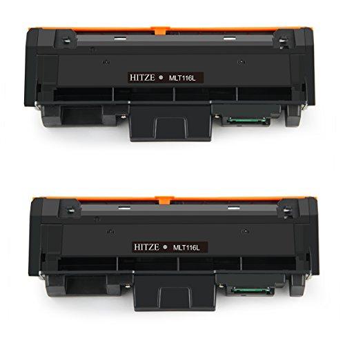 Hitze per Samsung MLT-D116L Cartuccia Toner, MLT D116L Compatibile per Samsung Xpress M2675, M2675F, M2675FN, M2620, M2625, M2625D, M2625N, M2626, M2676, M2820, M2825, M2826, M2830, M2835 (2 Nero)