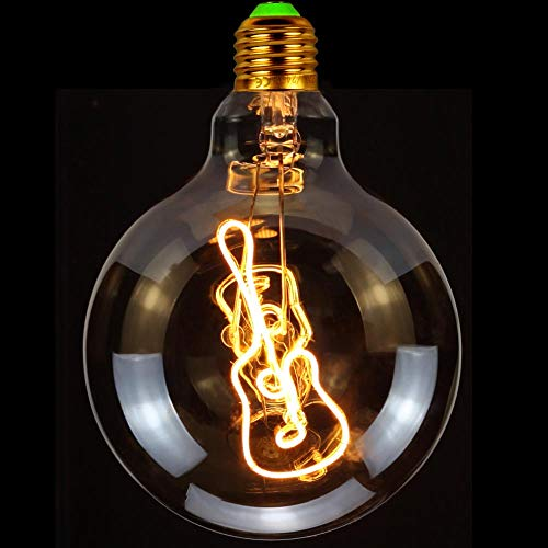 TIANFAN Led Lamp Vintage Led Filament Gitaar 4 Watt Edison Lamp Decoratieve Hanglamp 220 / 240V Super Warm