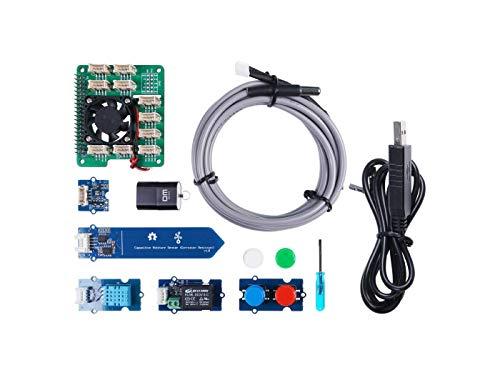 NGW - 1 x Grove Smart Agriculture Kit für Raspberry Pi 4 – entworfen für Microsoft FarmBeats für Studenten.
