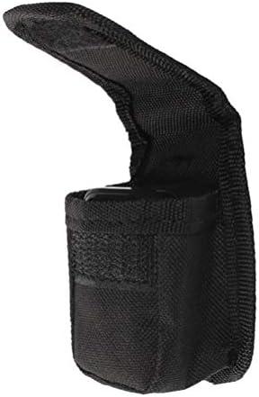 Healifty bolsa de teléfono Organizador de la bolsa de almacenamiento duro para el monitor de saturación de oxígeno con oxígeno y oxímetro de pulso (negro)