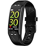 BIGFOX Fitness Tracker,Android iOS Orologio Fitness,Impermeabile IP67 Smartwatch Uomo Donn...