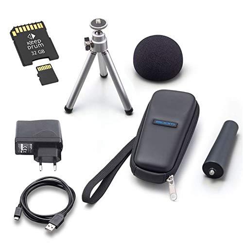 Zoom Aph-1n - Kit di accessori per H1n + scheda di memoria da 32 GB