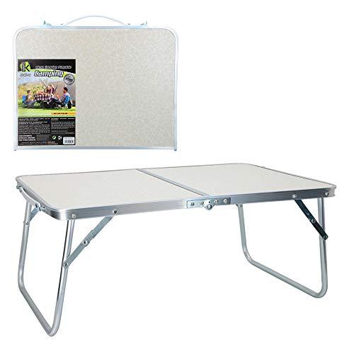 Aktive 52812 Mesa plegable camping Sport, 60 x 40 x 26 cm Blanca
