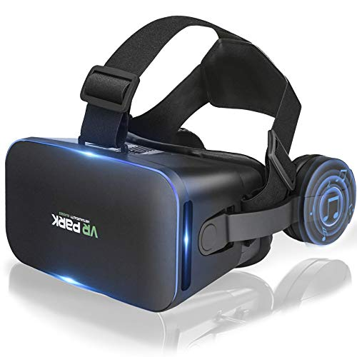 VR Headset, Virtual Reality Glasses Compatible with iPhone & Android, VR Goggles for 3D Movies...