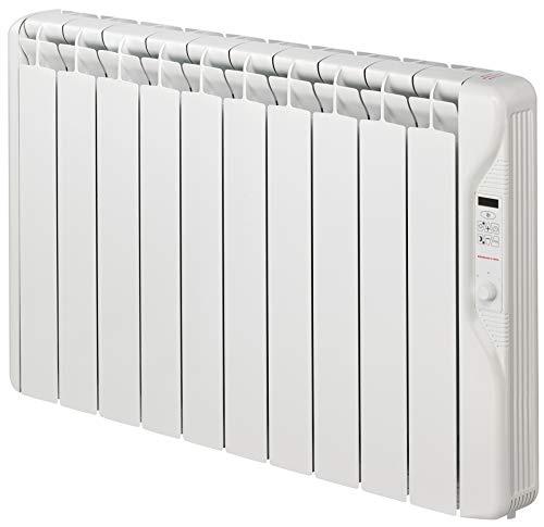Gabarrón - Emisor de Fluido térmico RF10E Plus. Radiador eléctrico programable de 1250W y 10 Elementos con Tres Niveles de Temperatura