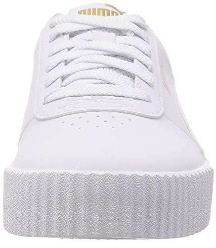 PUMA Carina Leo H, Zapatillas Mujer, Blanco White White, 39 EU