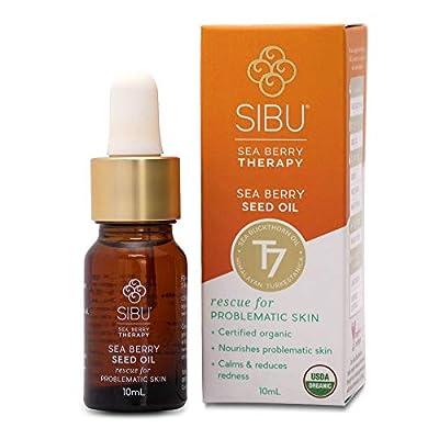 SIBU Omega 7 Sea Buckthorn Seed Oil, 10 ml (2 Pack)