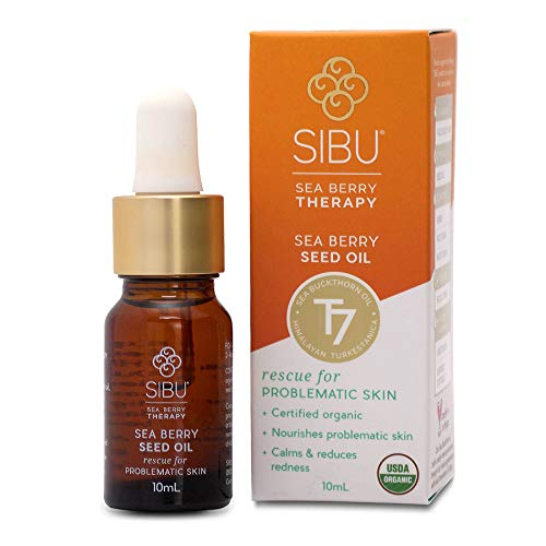 SIBU Premium Omega 7 Sea Buckthorn Seed Oil, 10 ml