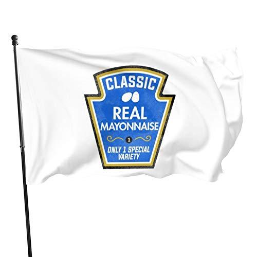 Banderas de bandera para disfraz de Halloween, de 0,9 x 1,5 m