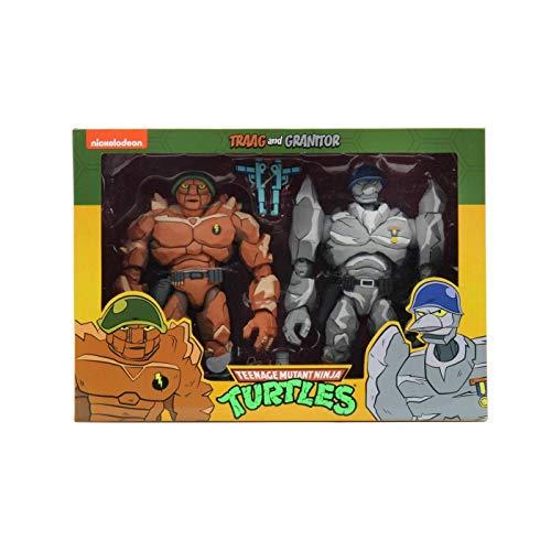 Neca Teenage Mutant Ninja Turtles Action Figure 2-Pack Tragg & Grannitor 18 cm