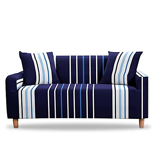 WXQY Funda de sofá Flexible Esquina seccional Funda Protectora de sofá de Esquina en Forma de L Funda de sofá Antideslizante Moderna A1 2 plazas