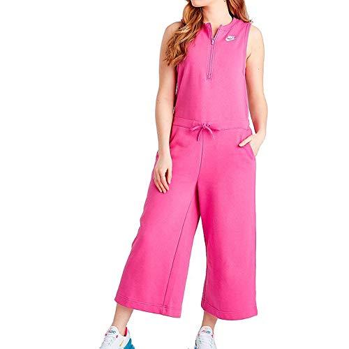 Nike Womens Sports Wear NSW Club Romper FT AR3848-623 Size S