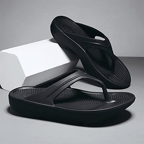 ALUNVA Zapatos de Playa Zapatillas de Ocio al Aire Libre Pareja Zapatos Tamaño 36-46 (Color : Black, Shoe Size : 6.5)