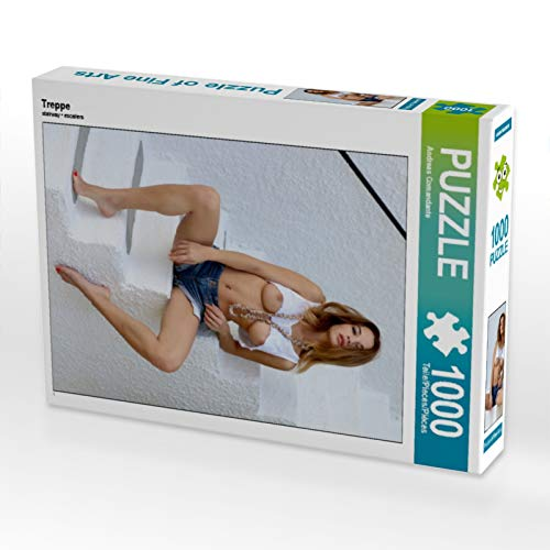 CALVENDO Puzzle Treppe 1000 Teile Lege-Größe 48 x 64 cm Foto-Puzzle Bild von Andreas Comandante