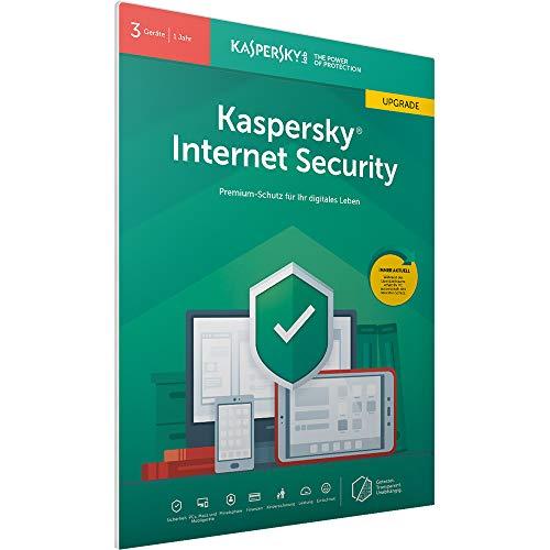 Kaspersky Internet Security 2019 Upgrade   3 Geräte   1 Jahr   Windows/Mac/Android   FFP   Download