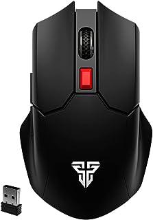 FANTECH WG11 CRUISER Wireless 2.4Ghz Gaming Mouse - Silent Clicks - 2,400 DPI - pixart 3212 optical sensor (Black)