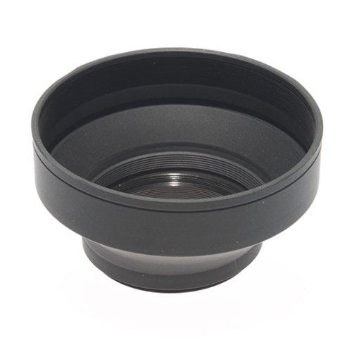Phottix 52502 - Parasol para Objetivos 55 mm, Negro