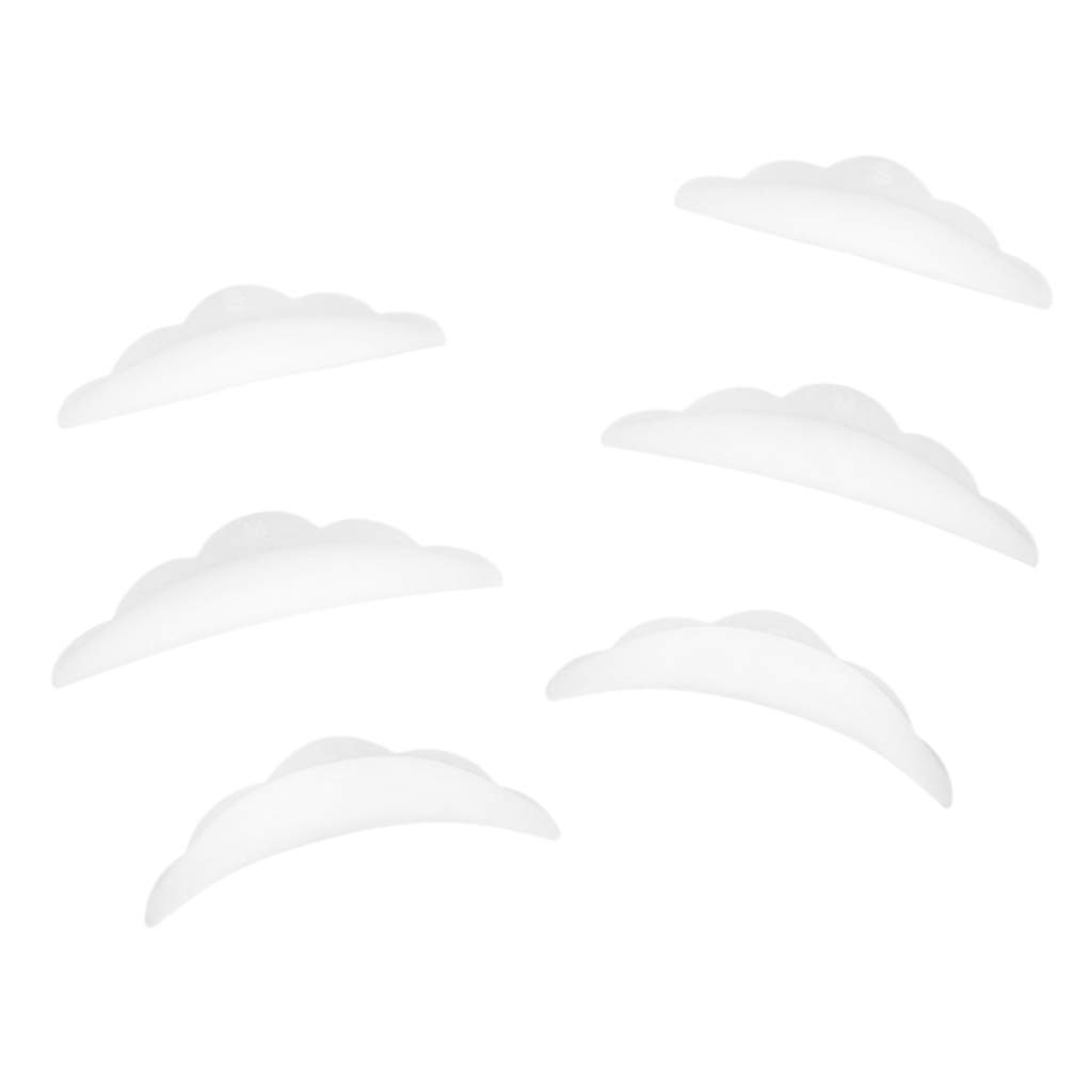 Milageto 3 Pairs Silicone Durable Sale item Permanent Max 90% OFF Perm Eyelashes Curle