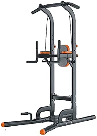SkyLand-Multi-Function chin up station with rope & backrest