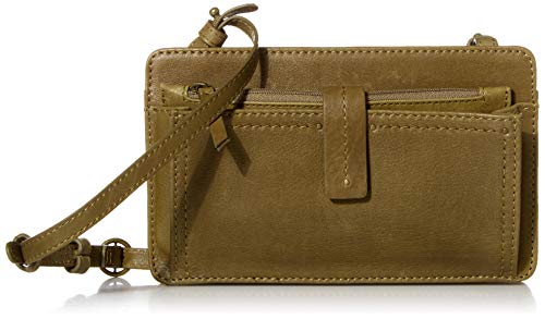 Lucky Brand womens Bosh Convertible Wallet Crossbody, Sage, Extra Small US