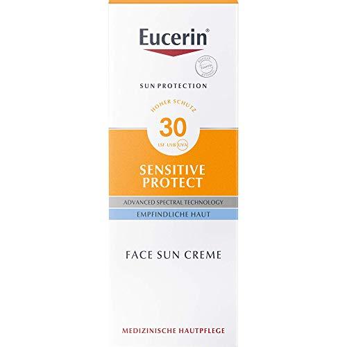 Eucerin Sensitive Protect Face Sun Creme LSF 30, 50 ml Creme