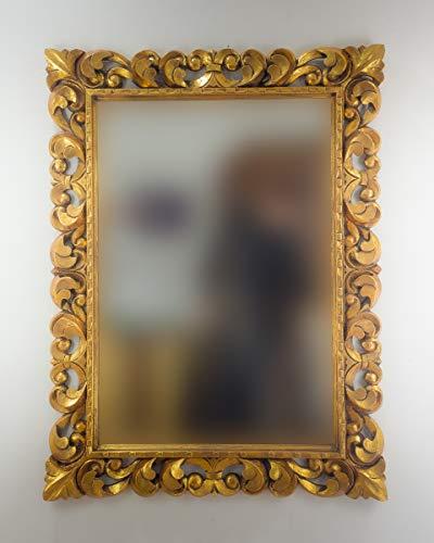 Rococo Espejo Decorativo Madera Tommy Square 120x90