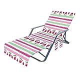 Enjoyyouselves Cubierta para tumbona de piscina, cubierta para sillón de playa, para piscinas, playas, hoteles de jardín