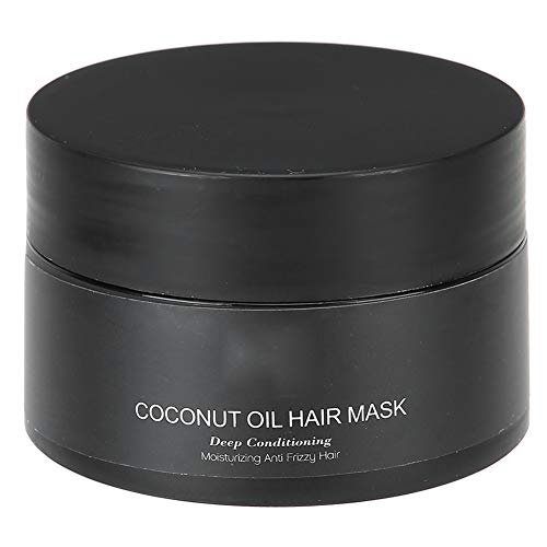 Acondicionador profundo para cabello seco o dañado, mascarilla capilar, mascarilla reparadora de aceite de coco, mascarilla en crema humeante gratuita para el cabello, cuidado del cabello para evitar