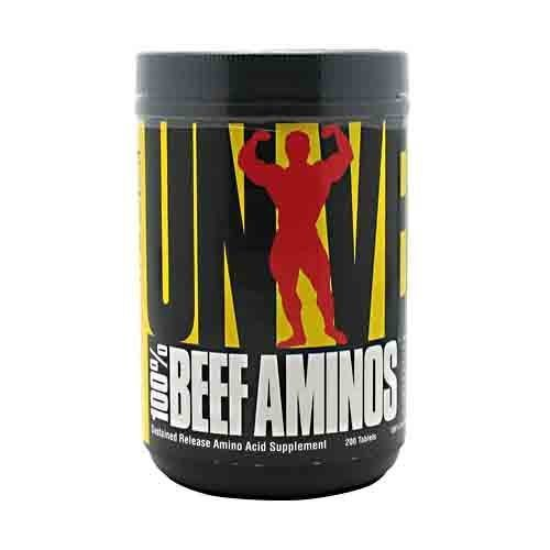 Universal Nutrition 100% Beef Aminos, 200 Tablets by Universal Nutrition