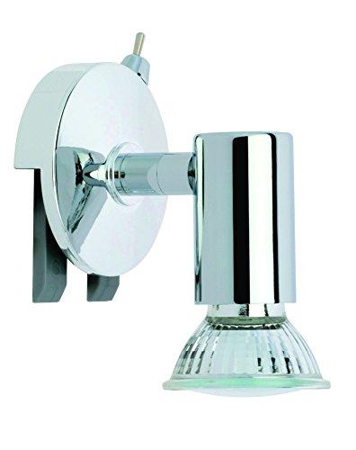 Trango LED Spiegelleuchte Clip-Leuchte inkl. 1x LED LM Bad Lampe Badleuchte ON/OFF Schalter TG2112