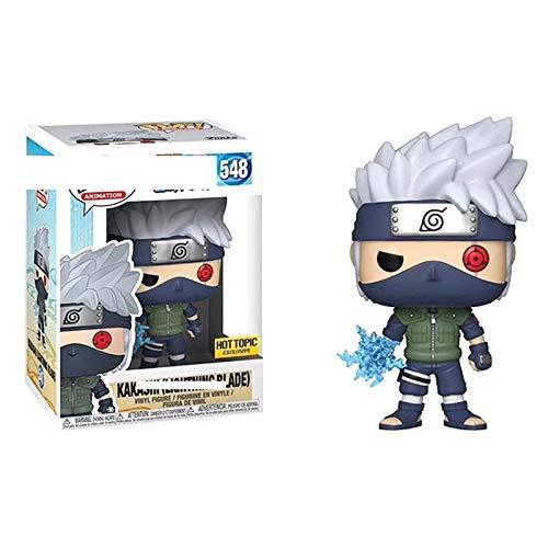 YISUDA Funko 48552 Pop! Naruto Uchiha Itachi/Sakuin Sasuke/Kakashi Figura Muñeca