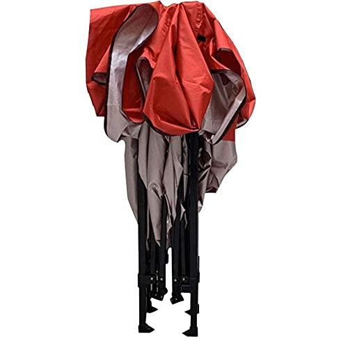 ZHFF 3x3m Heavy Dut étanche Pop Up Tente de fête Tente de chapiteau Dessus Creux, Trous de Ventilation Portable - avec Un Sac Parasol extérieur