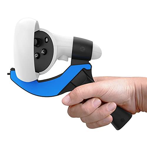 WOTEG 1 Stück Tischtennis Paddel für Oculus Quest 2, VR Ping Pong Paddel Adapter, Linker und Rechter Tischtennisschläger Griff zum Spielen von Tischtennis VR-Spielen