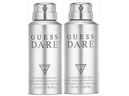 Guess Dare for Men - Desodorante corporal en spray (2 unidades de 150 ml)