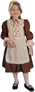 Dress Up America Deluxe Colonial Girl Costume
