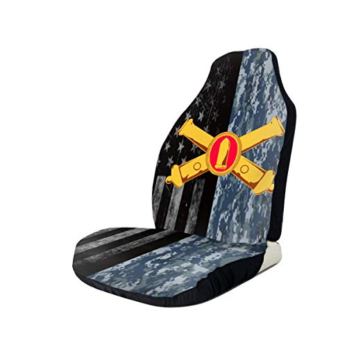 Lowest Prices! United States Army Coast Artillery Corps Car Seat Covers for Vehicles Universal 3D Pr...