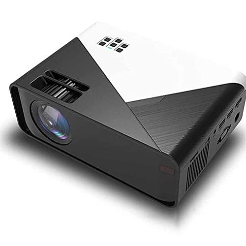 FMGFGFMG Mini proyector, portátil LCD, 1080P Proyector HD Oficina de Negocios Inicio, Mini Proyector