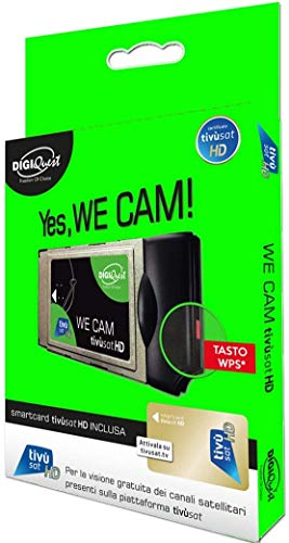 We CAM Tivùsat HD - scheda Tivùsat inclusa