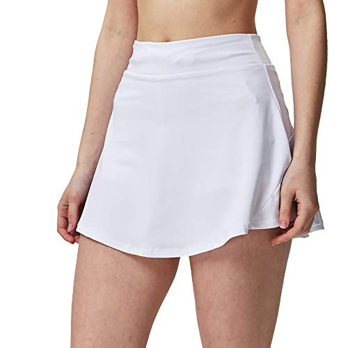Asian sizes S aerobics athletic dancing 4XL comfortable great for yoga Super soft lightweight womens skirts with shorts that allow tennis running