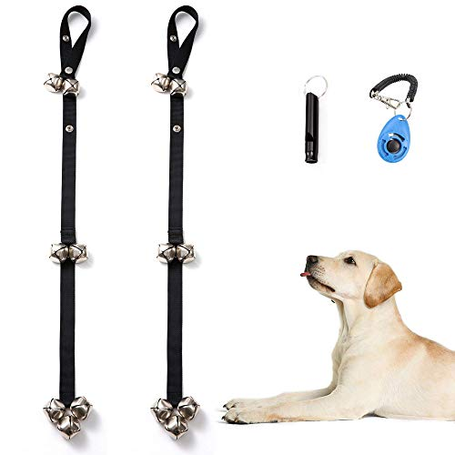 fancigo 2 Pcs Set Potty Training Doorbell Perfect Choice for Your Puppy/Dog/Pets.Upgraded 3 Level Adjustable Length.Premium Quality.Thoughtful Details. Easy and Fun Way to Intimate with Your Friends.