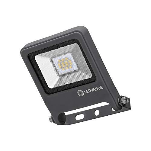 LEDVANCE LED Fluter, Leuchte für Außenanwendungen, Warmweiß, 122 mm x 108 mm x 33 mm, ENDURA FLOOD