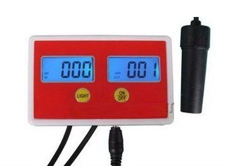 Gowe Aquarium Online PH/Leitfähigkeit Monitor PH-Messgerät Leitfähigkeit Messgerät 0,00–1999us/cm