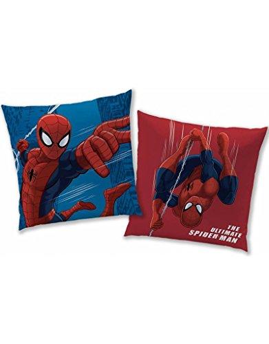 Spiderman Kissen, Polyester, Mehrfarbig, 40 x 40 cm